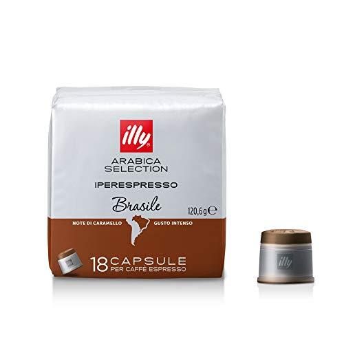 Illy Coffee Intense taste Iperespresso Arabica Selection Brazil Capsule