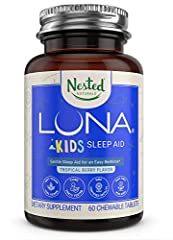 *NEW LOOK* LOVE OUR LUNA KIDS, OR YOUR MONEY BACK | Hello, we're Nested Naturals. Nice to meet you! We're a socially conscious company that believes in only using the best, most ethically produced ingredients available, 3rd party testing every batch ...