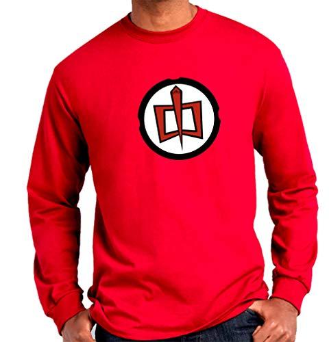 Camiseta Manga Larga de Hombre Varias Series El Gran Heroe Americano 001...