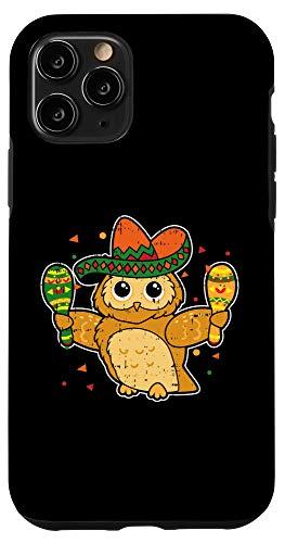 iPhone 11 Pro Cinco De Mayo Drink Gift Sombrero Maracas Fiesta Gift Case