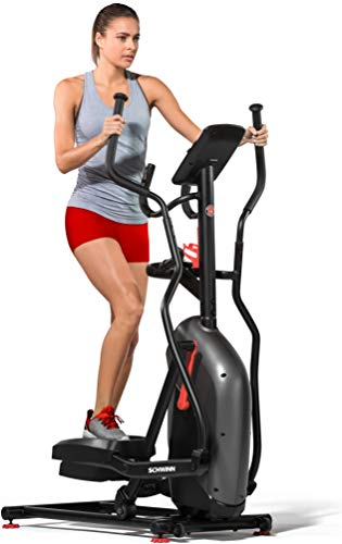 Schwinn Fitness 510E Bicicleta elíptica, Unisex-Adult, Negro/Rojo, One Size