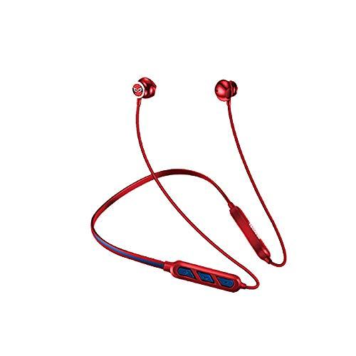 IFREE Fitness sans Fil Bluetooth4.2 Écouteurs Imperméable Stéréo Suppression du Bruit Écouteur La chaîne Hi-FI Résistant à la Sueur Écouteurs pour Fonctionnement Gym des Sports Yoga Jeu,Spiderman