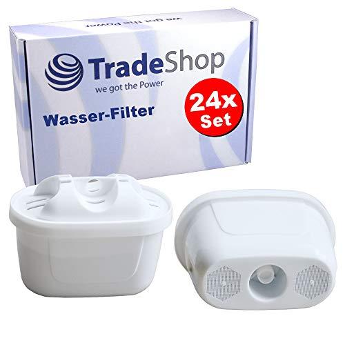 Trade-Shop 24x Filterkartuschen für Bosch Tassimo TAS5542GB, TAS6515GB, TAS8520, TAS8520GB, TAS6515, TAS4502, TAS4503, TAS4504 Wasser-Filter/für sauberes Wasser