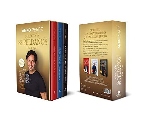 Estuche Colección 88 peldaños de Anxo Pérez - vols. 1, 2 y 3 (COLECCION ALIENTA)