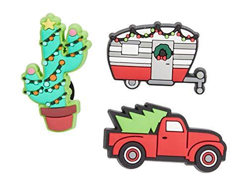 Crocs Jibbitz Urlaub-Schuhanstecker 3er-Set | Individualisieren Sie Ihre Crocs mit Jibbitz Holidays Away One-Size