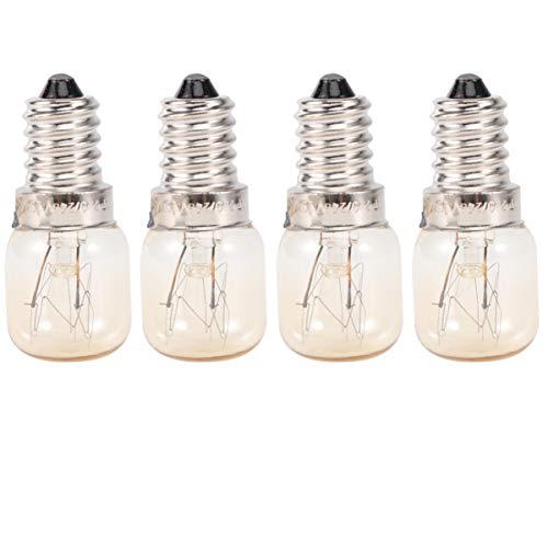 FRCOLOR Bombilla LED de 15 W E14 para microondas, bombilla de filamento de tungsteno, bombilla de filamento de 15 W