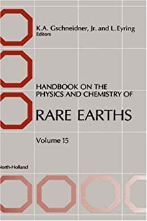 Handbook on the Physics and Chemistry of Rare Earths (Volume 15)
