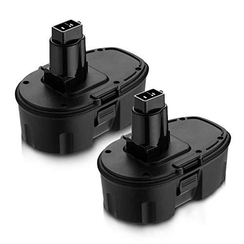2Pack 18V 3.6Ah DC9096 Replacement Battery for Dewalt 18 Volt XPR Battery Compatible with Dewalt DC9098 DC9099 DE9039 DE9096 DE9098 DW9099 DW9098 DE9503 Batteries