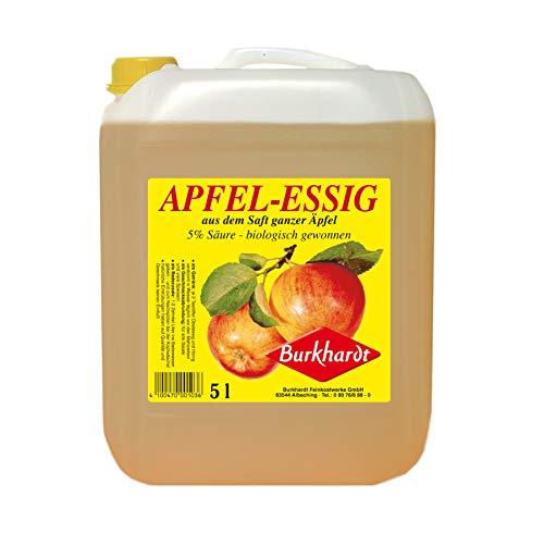 Burkhardt Apfelessig 5% Säure 5Ltr. Kanister