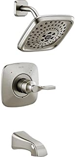 DELTA FAUCET CO 144766C-SP BN SHWR Faucet Tub and Shower Trim, Spotshield Brushed Nickel