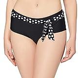 ESPRIT Damen Crosby Beach Hipster Shorts Bikinihose, 001/BLACK, 44