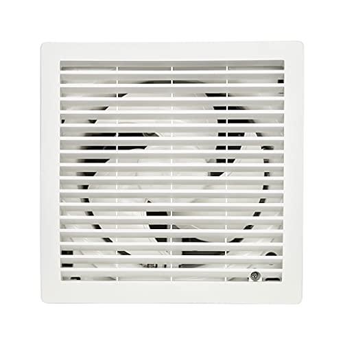 LITING Ventilador de ventilación doméstico Ventilador De Ventilación 6 Pulgadas De Vidrio Redondo Tipo Ventilador De Escape Silencioso para Cocina Y Baño