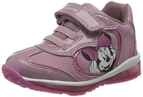 Geox B Todo Girl B, Zapatillas Bebé-Niñas, Rose, 22 EU