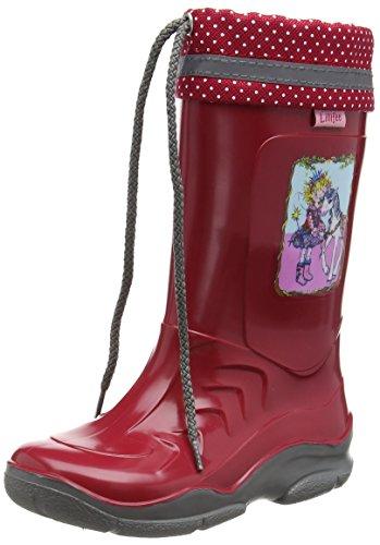 Prinzessin Lillifee Mädchen 130079 Gummistiefel, Rot Rot, 23 EU