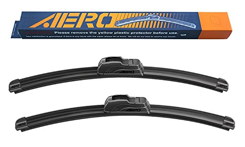 "AERO 17"" + 17"" OEM Quality Premium All-Season Beam Windshield Wiper Blades (Set of 2)"