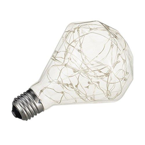 LEDMOMO Vintage Edison Bulb Glühbirne für Home Leuchten mit E27 Base (Colorful Diamond)