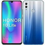 Foto HONOR 10 Lite Telefono Cellulare, 3GB RAM + 128GB ROM, Display da 6,21 Pollici con Doppia Fotocamera AI 13MP + 2MP, HONOR Telefono Cellulare(Sky Blue)