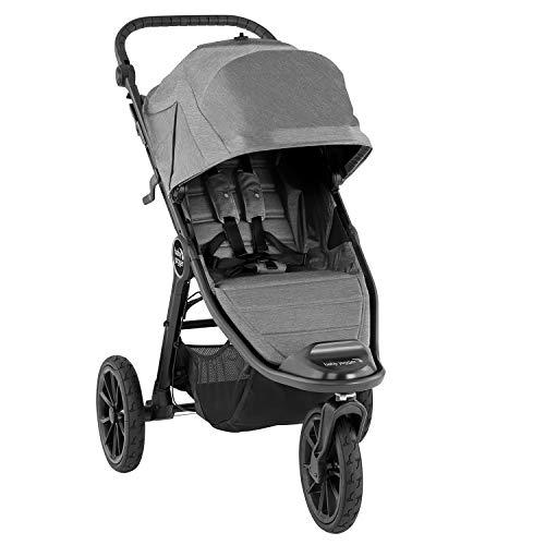 Baby Jogger City Elite 2 All-Terrain Pushchair | Foldable, Portable Stroller | Slate (Grey)