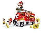 Pinypon Action. Camión de Bomberos para niños y niñas de 4 a 8 años (Famosa 700016237)