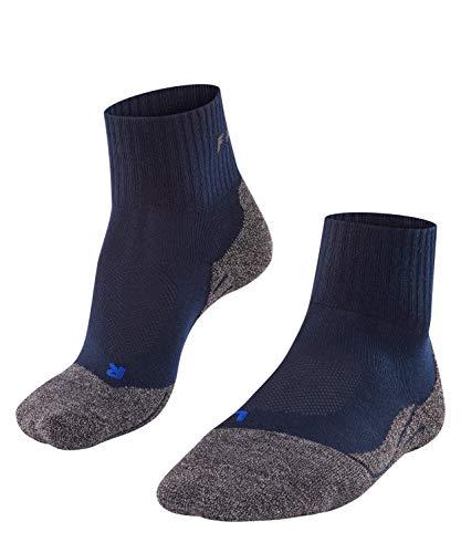 Falke Socken TK2 Short Cool Calcetines para Senderismo, Hombre, Marine, 44-45
