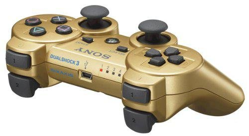 PlayStation 3 - DualShock 3 Wireless Controller, gold