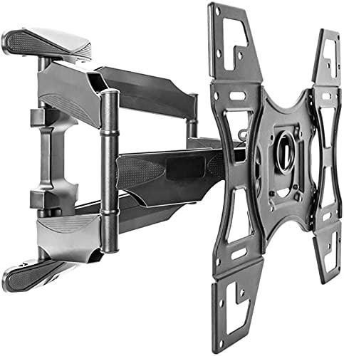 YYAI-HHJU Soporte De Pared para TV Soporte Giratorio Inclinable para TV para Pantallas Planas Y Curvas De 32-70 Pulgadas Carga Máxima 45.5Kg MAX.400X400Mm