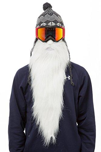Beardski - Skimaske mit Bart (Merlin)