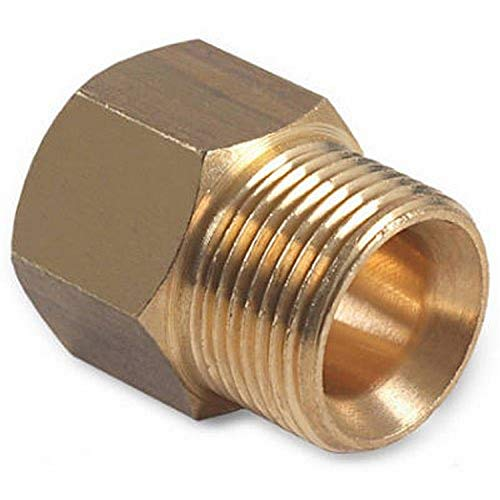 """Mi T M AW-0023-0493 Pressure Washer Male Nominal Pipe Thread with Screw Nipple, 3/8"""""""