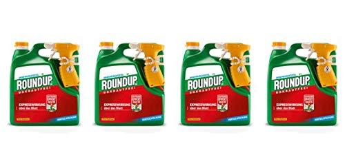 ROUNDUP AC Unkrautfrei Sprühsystem 12 l - Unkrautvernichter schnell und effektive Wirkung in Beeten oder Gartenwegen