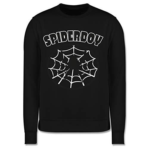 Karneval & Fasching Kinder - Spiderboy - 152 (12/13 Jahre) - Schwarz - Superheld - JH030K - Kinder Pullover