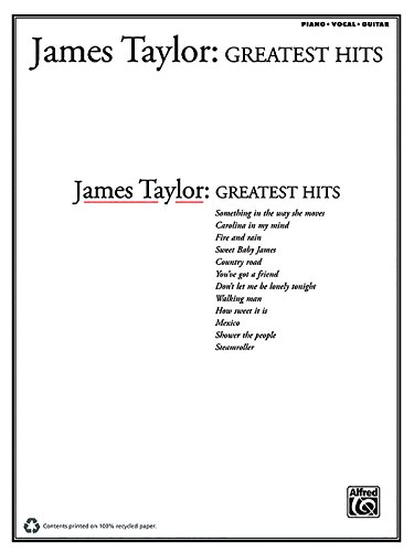 James Taylor -- Greatest Hits (PIANO, VOIX, GU)