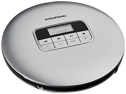 Grundig GCDP 8000 GDR1404 Tragbarer CD-Player Silber