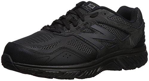 New Balance Men's 510v4 Cushioning Trail Running Shoe, Black, 11 4E US