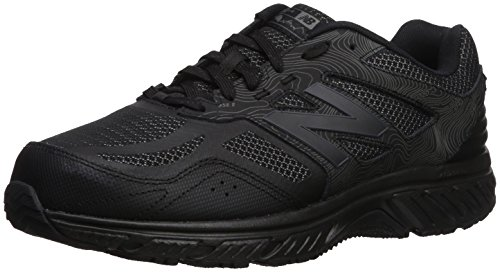 New Balance Men's 510v4 Cushioning Trail Running Shoe, Black, 7 D US