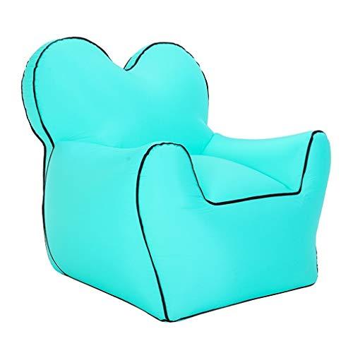 ZXC Home Opblaasbare bank, voor buiten, opblaasbaar, van nylon, lekvrij, hoge draagkracht, keuze uit 6 kleuren