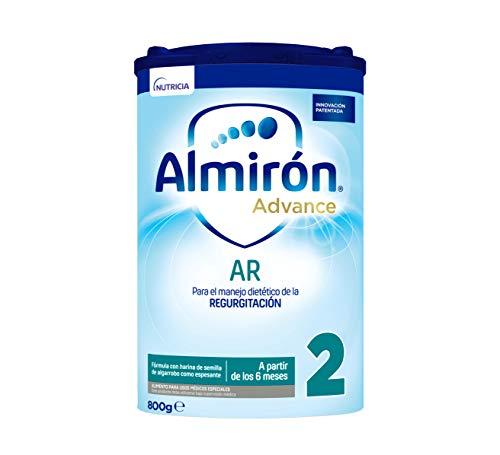 Almirón Advance AR2, Leche de Fórmula para Bebé Anti Regurgitación, desde 6 Meses, 800g