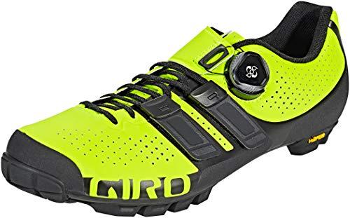 Giro Herren Code Techlace MTB Radsportschuhe - Mountainbike, Lime Black, 41 EU