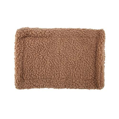 puseky Alfombrilla rectangular de felpa, para hámster, casita de mascotas, erizo, erizo,...