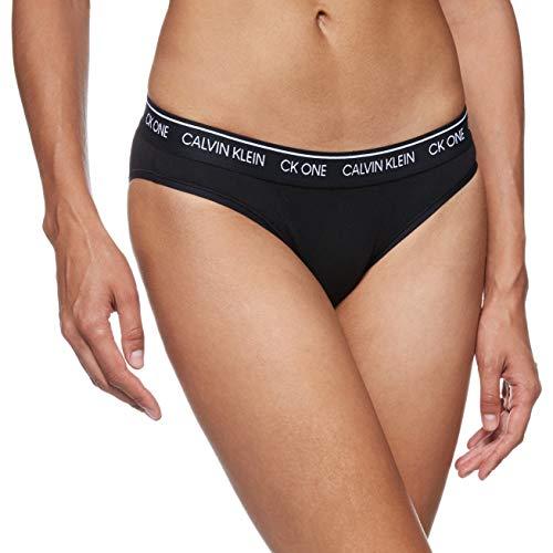 Calvin Klein Braguita de Bikini, Negro (Black 001), XL para Mujer
