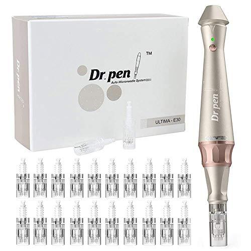 Dr. Pen Ultima E30-C Derma Pen Profesional de Microagujas Kit de Herramientas...