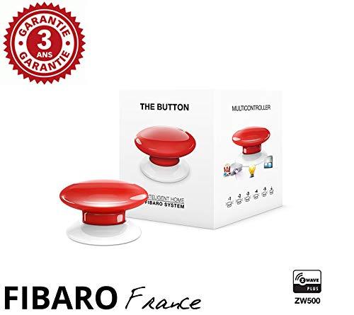 FIBARO The Button Rouge – Szenencontroller Z-Wave+