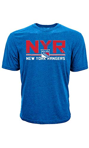 Levelwear NHL New York Rangers Scoreboard T-Shirt, Größe:S