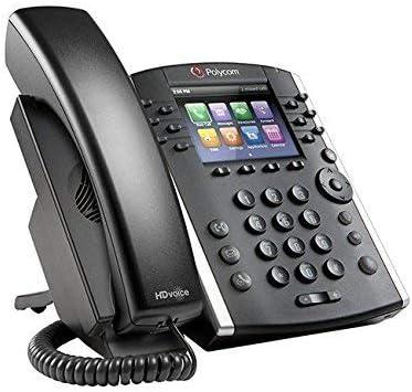 Polycom VVX 410 12-Line Desktop Phone (Power Supply Included)