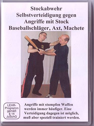 Stockabwehr Selbstverteidigung gegen Angriffe mit Stock Baseballschläger, Axt, Machete