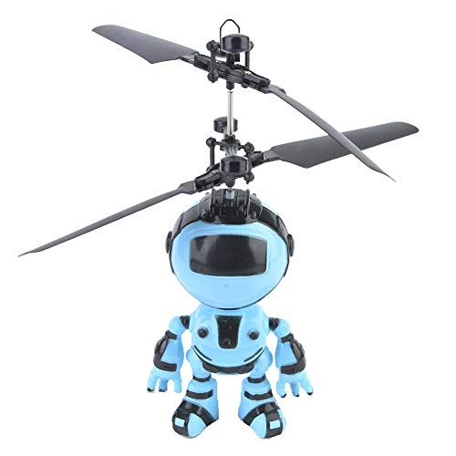 VGEBY1 Juguetes de Vuelo en helicóptero, helicóptero Robot para niños, Mini Drone de Carga a Mano, Aviones de inducción, Juguete para niños