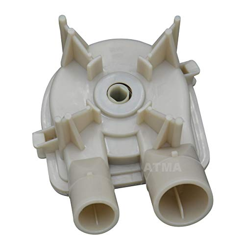ATMA 3363394 Washer Drain Pump Replacement Parts Compatible with Whirlpool Kenmore Maytag Washing Machine 3352492 21024 3348215 3348014