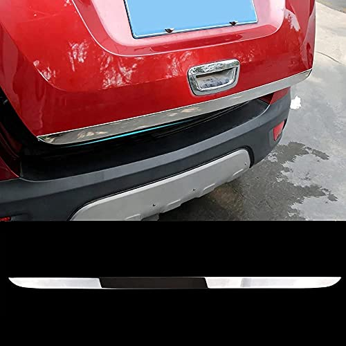 Verchromte Edelstahl Auto Heckklappenverkleidung für Buick Encore Opel/Vauxhall Mokka X 2012-2018, Heckklappen Zierleiste Kofferraum Stylingleisten Aufkleber Dekoration ZubehöR