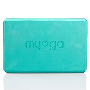 Myga Normal Yoga Ladrillo, Unisex Adulto, Turquesa, M