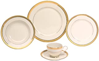 Mikasa Palatial Gold 5-Piece Place Setting, Service for 1