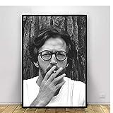 YXFAN Eric Clapton Musik Sänger Poster und Drucke Leinwand